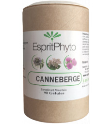 Canneberge Cranberry 90 gélules EspritPhyto