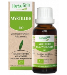 Myrtillier bio Flacon compte gouttes 50ml Herbalgem