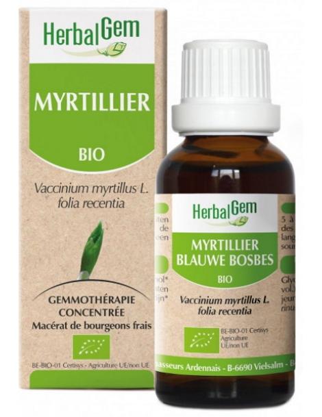 Myrtillier bio Flacon compte gouttes 50ml