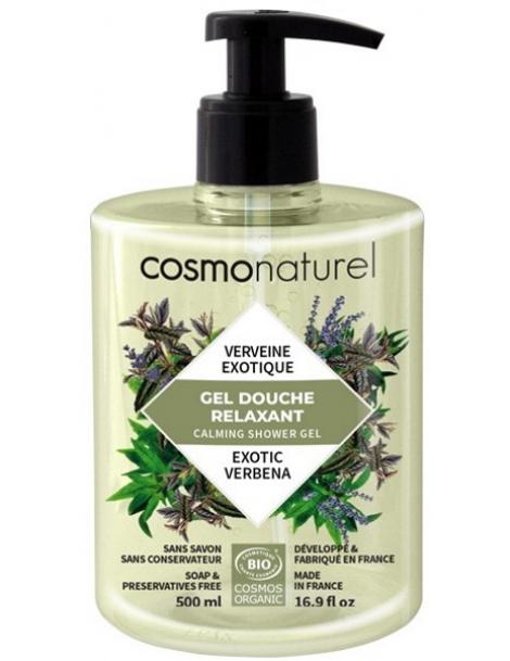 Bain douche Relaxant Verveine exotique 500ml Cosmo Naturel Herboristerie de Paris