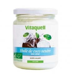 Huile de coco goût neutre 200g Vitaquell
