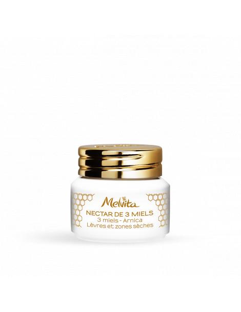 Baume Nectar de 3 Miels Multi Usages 8gr Melvita Herboristerie de Paris