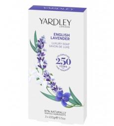Coffret 3 savons English Lavender  3 x 100g Yardley
