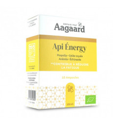 Api' Energy 10 ampoules de 10ml Aagaard