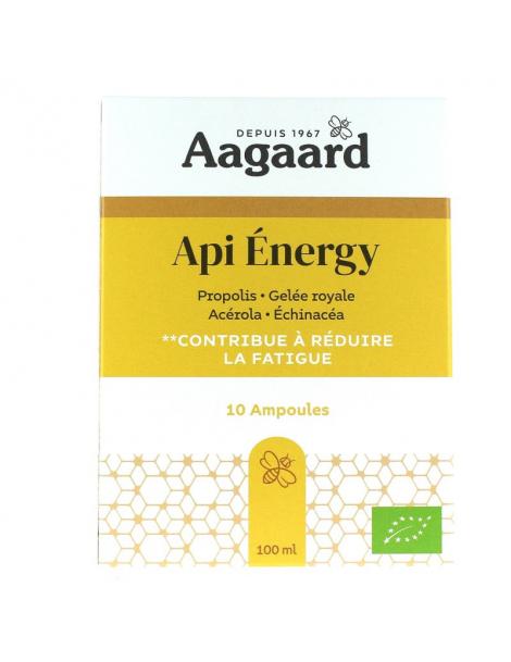 Api' Energy 10 ampoules de 10ml