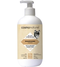 Shampoing au lait d'ânesse + HE 500ml Cosmo Naturel