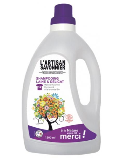 Entretien Shampooing Laine et Délicat 1500ml L Artisan Savonnier