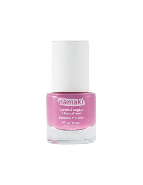Vernis à ongles pour enfants base eau 02 Rose 7.5ml Namaki