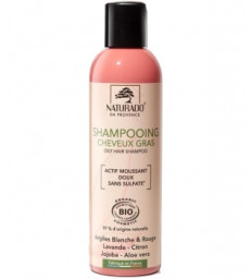Shampoing cheveux gras sans sulfate 200ml Naturado