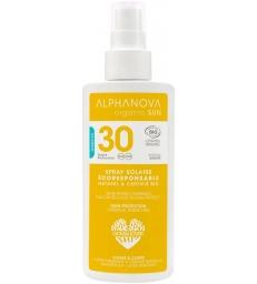 Lait solaire haute protection SPF 30 125ml Alphanova