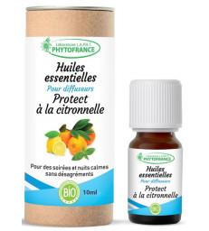 Protect à la citronnelle pour diffuseurs 10 ml Phytofrance
