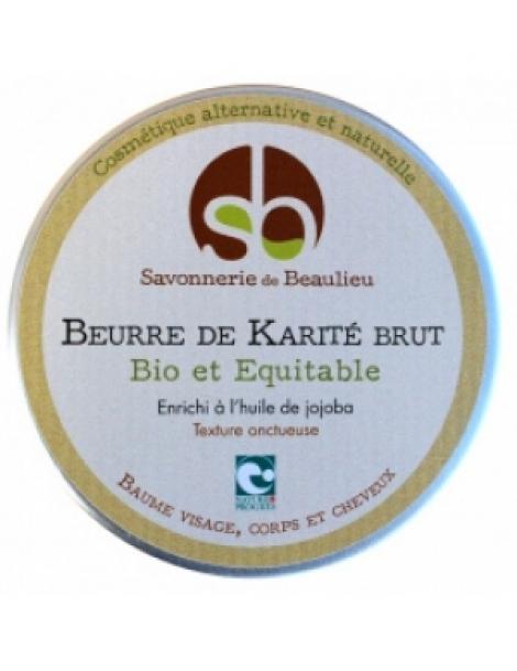 Beurre de Karité Jojoba 100ml Savonnerie De Beaulieu Herboristerie de Paris