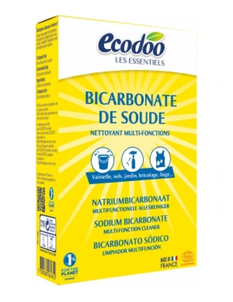 Bicarbonate de soude  500ml Ecodoo Herboristerie de Paris