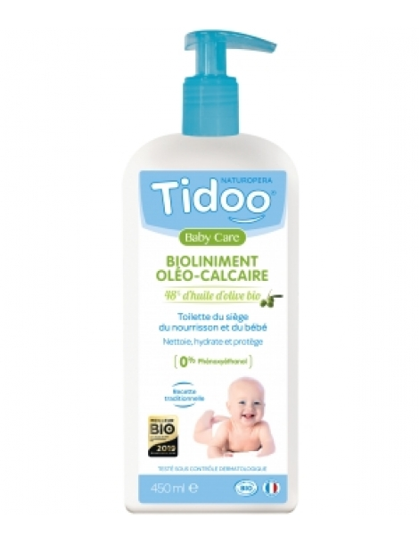 Bioliniment Oléo Calcaire Tidoo Care 450ml Tidoo Herboristerie de Paris