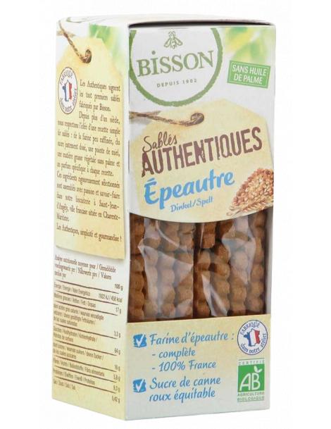 Biscuits sablés les authentiques Epeautre 175gr Bisson Herboristerie de Paris