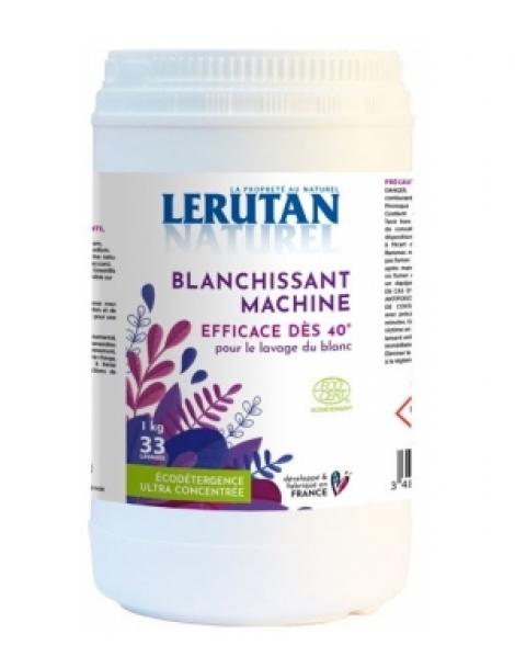 Blanchissant additif lessive liquide ou couleur en poudre 1kg Lerutan Herboristerie de Paris