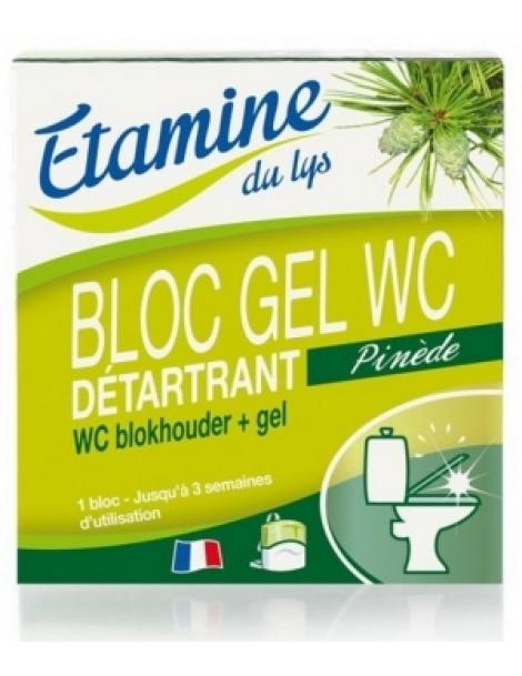 Bloc gel WC au Pin et à l'Eucalyptus 50ml 0.050 ml Etamine du Lys Herboristerie de Paris