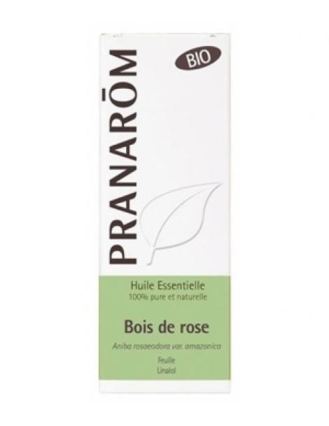 Bois de Rose Bio Flacon compte gouttes 10ml Pranarôm Herboristerie de Paris