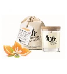Bougie Parfumée Naturelle Fleur d'oranger 200gr Nao