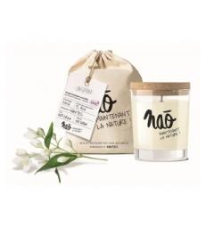 Bougie Parfumée Naturelle Jasmin 200gr Nao