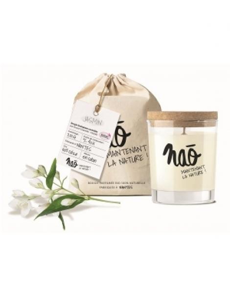 Bougie Parfumée Naturelle Jasmin 200gr Nao Herboristerie de Paris