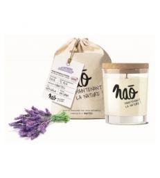 Bougie Parfumée Naturelle Lavande 200.0gr Nao
