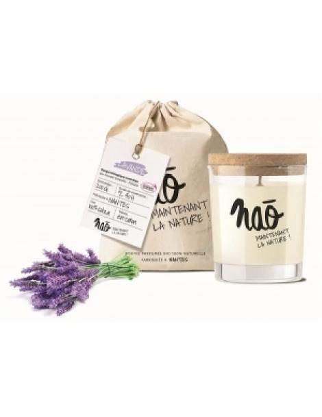 Bougie Parfumée Naturelle Lavande 200.0gr Nao Herboristerie de Paris