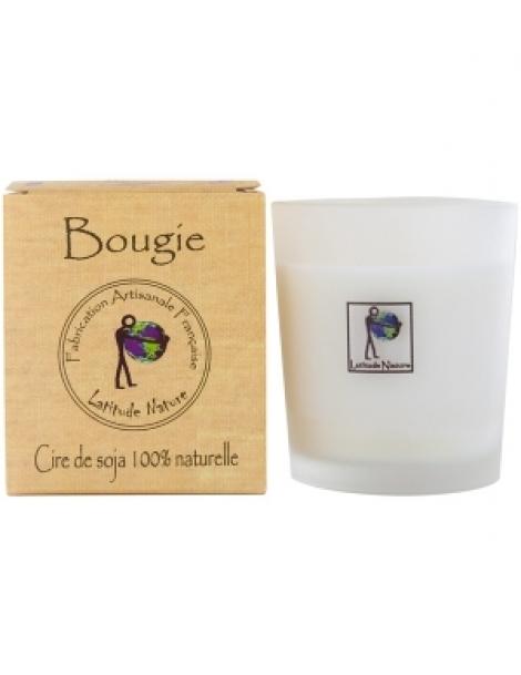 Bougie votive Pêche Abricot 75gr Latitude Nature Herboristerie de Paris