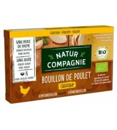 Bouillon cube de poulet 88gr Natur Compagnie