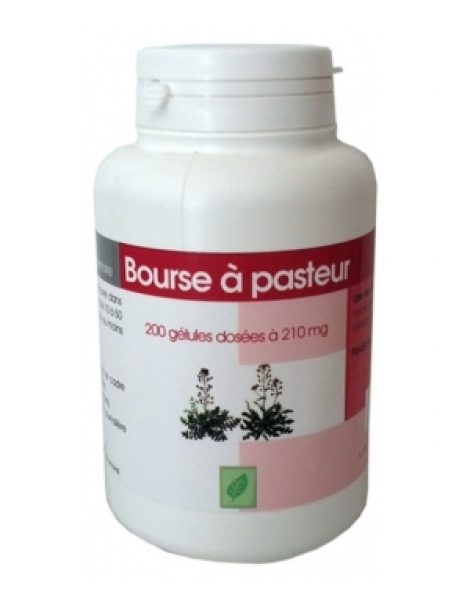 Bourse à pasteur bio 210mg 200 gélules GPH Diffusion Herboristerie de Paris