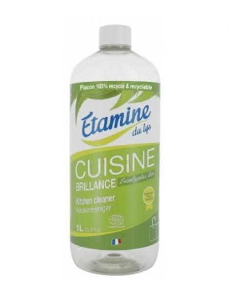 Brillance cuisine à l'eucalyptus recharge 1 litre Etamine du Lys Herboristerie de Paris