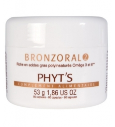 Bronzoral 2 Hydratant nourrissant naturel 80 capsules Phyts