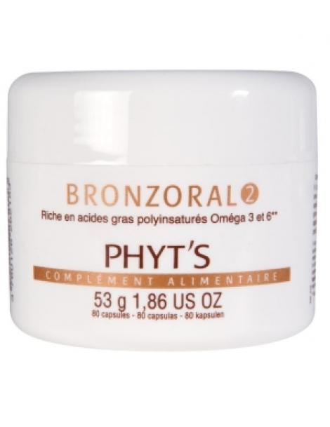 Bronzoral 2 Hydratant nourrissant naturel 80 capsules Phyts Herboristerie de Paris