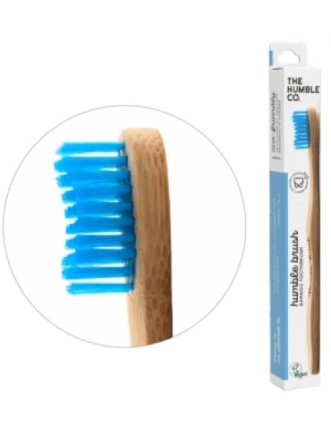 Brosse à dents adultes bleue Soft 15gr Humble Brush