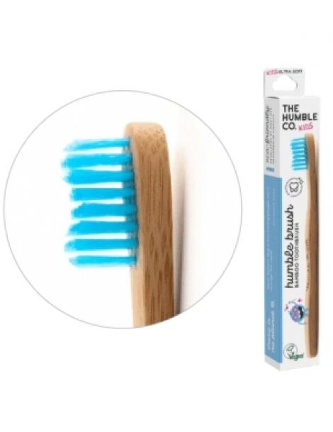 Brosse à dents enfants bleue 15gr Humble Brush