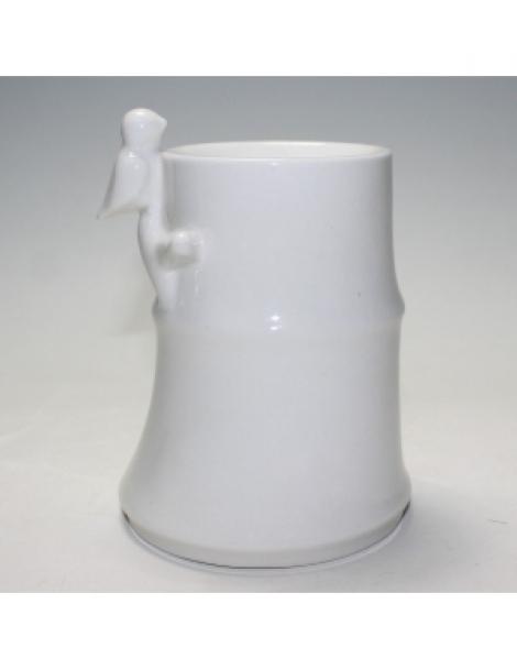 Brûle Parfum en céramique Bambou Blanc 500gr Zen Arome Herboristerie de Paris
