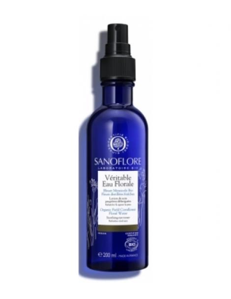 Brumisateur à la véritable eau florale de Bleuet 200ml Sanoflore Herboristerie de Paris