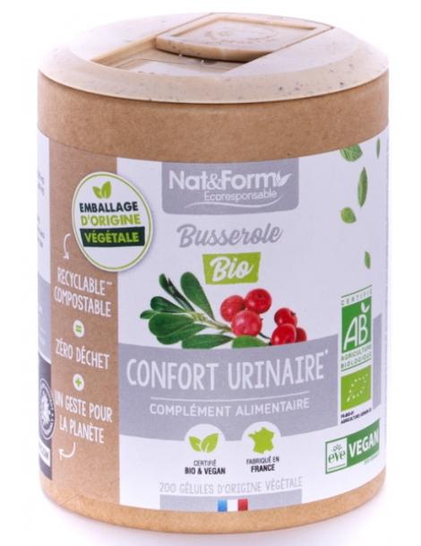 Busserole Bio 200 gélules Nat et Form Herboristerie de Paris