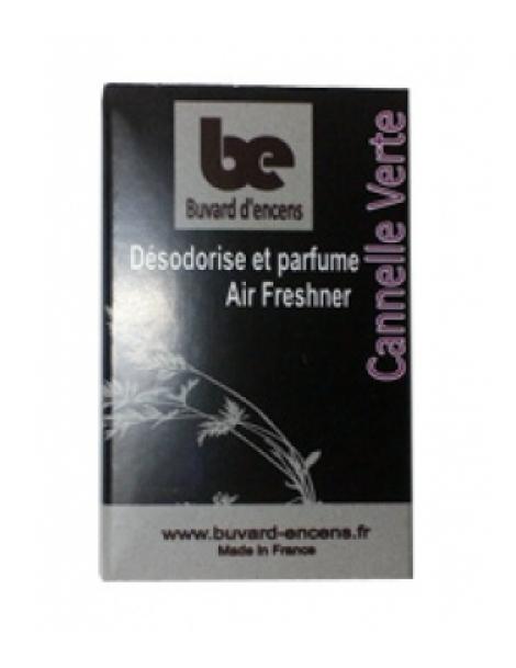 Buvard d'encens Cannelle Verte 36 feuillets Buvards D'Encens Herboristerie de Paris