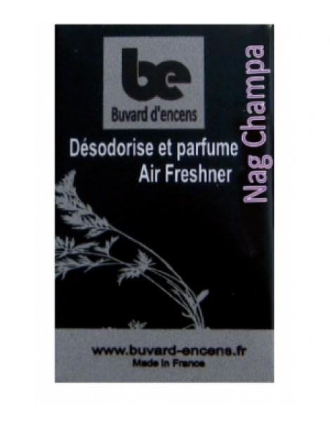Buvard d'encens Nag Champa 36 feuillets Buvards D'Encens Herboristerie de Paris