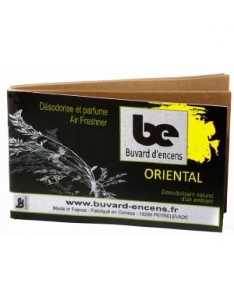 Buvard d'encens Oriental 36 feuillets Buvards D'Encens Herboristerie de Paris