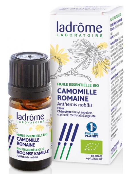 Huile essentielle de Camomille Romaine bio 5ml Ladrome Herboristerie de Paris