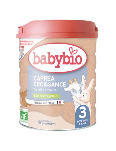 Capréa 3 au lait de chèvre 3ème âge De 10 mois à 3 Ans 800gr Babybio Herboristerie de Paris