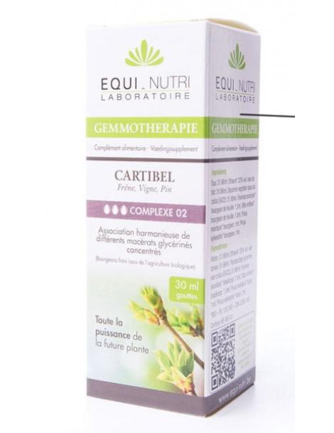 Cartibel Bio Flacon compte gouttes 30ml Equi - Nutri Herboristerie de Paris