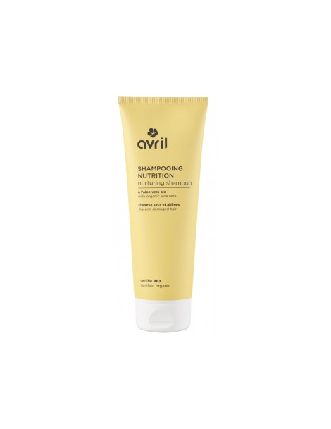 Shampoing bio Nutrition cheveux secs et abîmés 250ml Avril