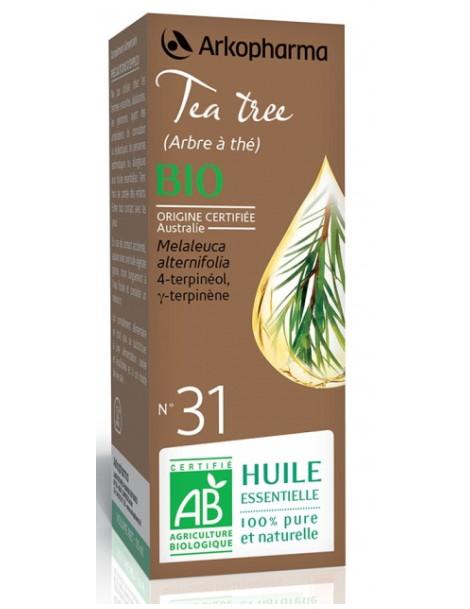 Huile Essentielle de Tea Tree 10ml agriculture biologique Herboristerie de paris