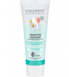 Dentifrice sensitive, dents sensibles 75ml Logona
