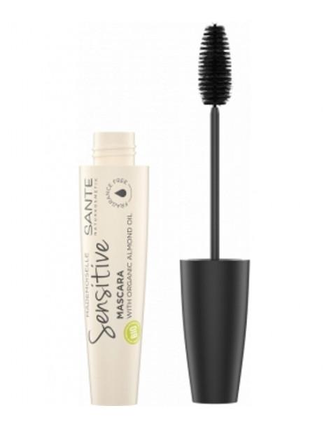 Mascara Mademoiselle Sensitive 01 Noir 8ml Santé maquillage bio des yeux Herboristerie de paris