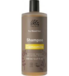 Shampoing Camomille pour cheveux blonds 500ml Urtekram