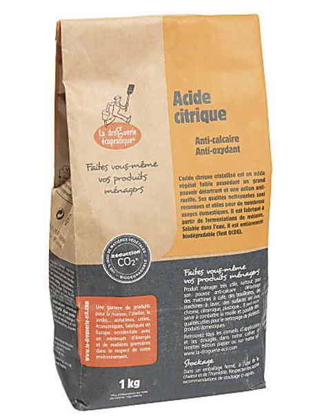 Acide citrique 1kg Droguerie Ecologique Herboristerie de Paris